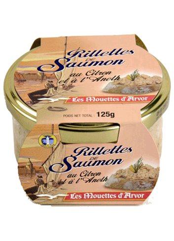 Rillettes de saumon 125g