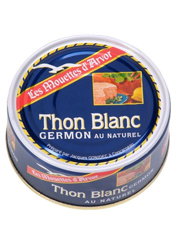 "Witte Germon Tonijn ""Naturel"" 132g"