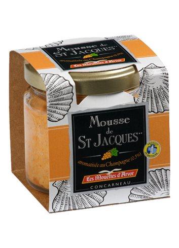Mousse de St-Jacques au Champagne 70g