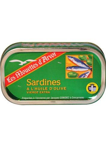 Sardienen Olijfolie 69g