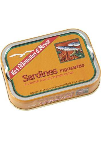 Sardines piquantes in olijfolie 115g