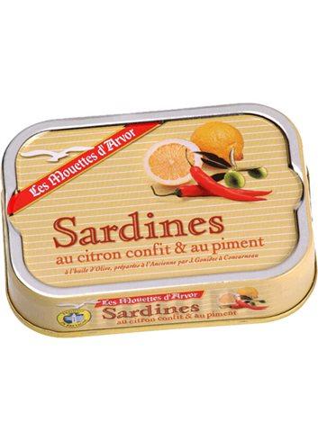 Sardienen Geconf. Citroen & Piment 115g