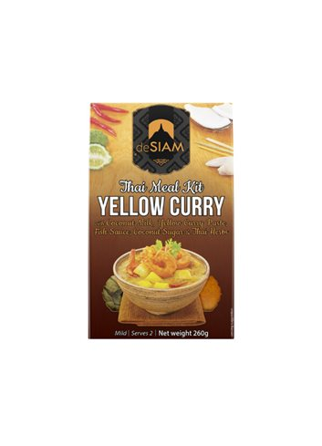 Yellow Curry Cooking set 260g