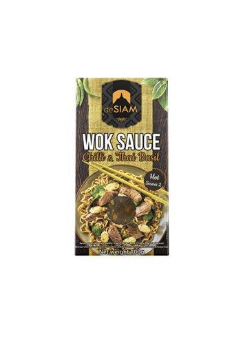 Wok Sauce Chilli & Thai Basil 100g