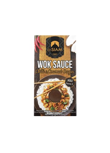 Wok Sauce Chilli & Coconut Sugar 100g