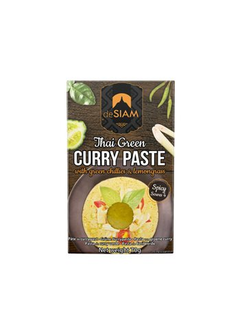 Pâte Curry Vert dS Pack 70g