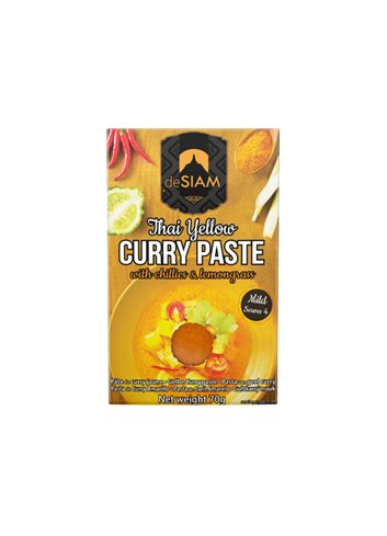Yellow Curry Paste dS Pack 70g