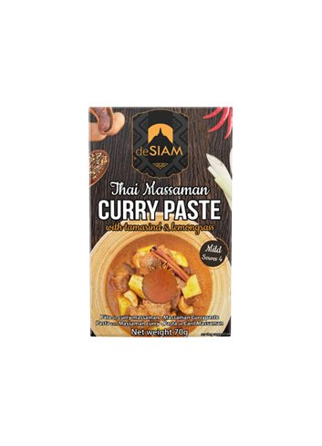 Massaman Curry Paste dS Pack 70g