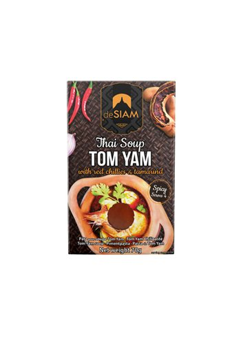 Pâte Curry Tom Yam dS Pack 70g