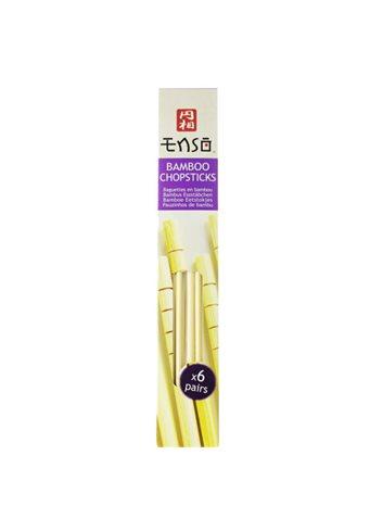 Bamboo Chopsticks (6 Pairs)