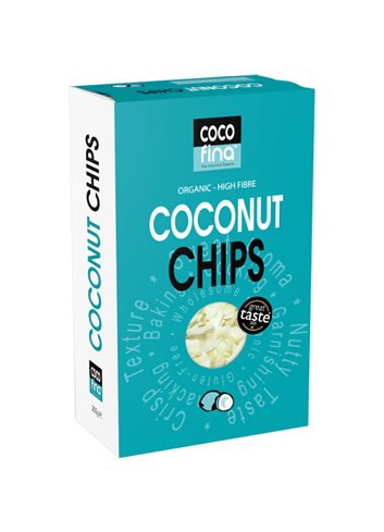Kokosnoot chips BIO Refill 250g