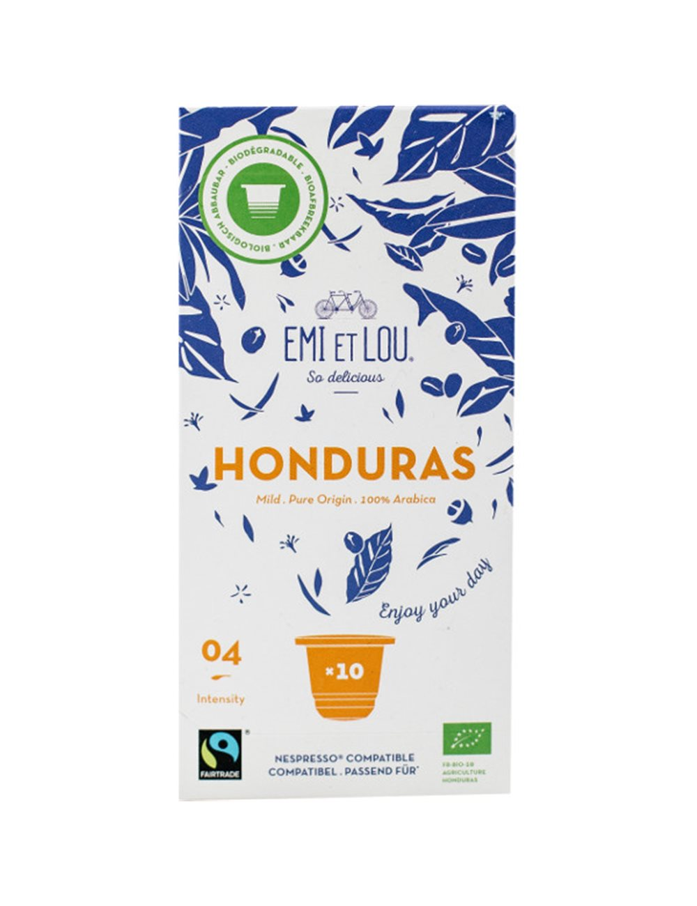 Honduras Bio Fairtrade Arabica Compost Caps (10x)