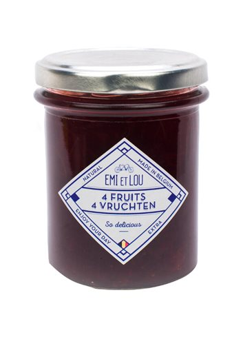 Confiture 4 Fruits 215g