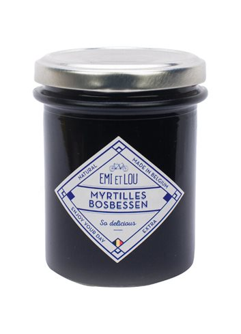 Confiture Myrtilles 215g