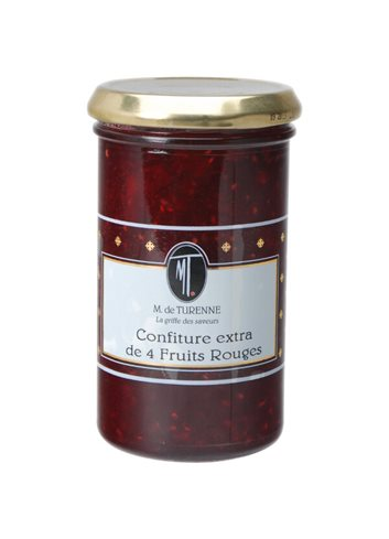 Confiture Extra 4 Fruits Rouges 320g