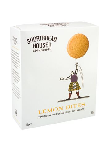 Shortbread Sport Lemon Bites 150g