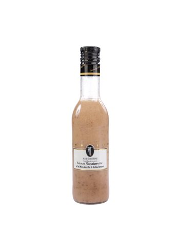 Sauce Vinaigrette A La Moutarde A L'Ancienne 375ml