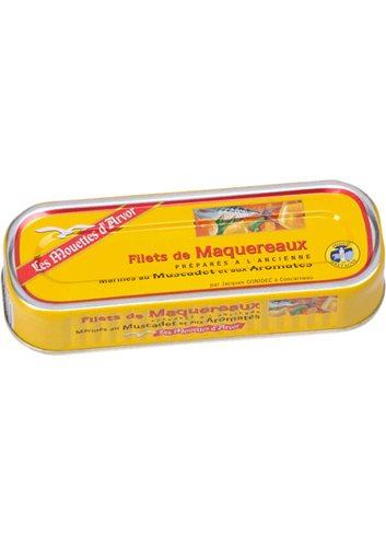 Filets de Maquereaux au Muscadet 176g