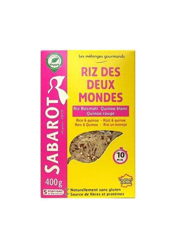 Riz des 2 mondes (Quinoa rouge & blanc, basmati) 400g