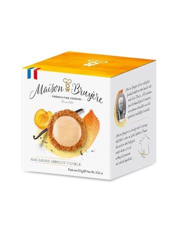 Abrikoos Vanille Macarons 100g