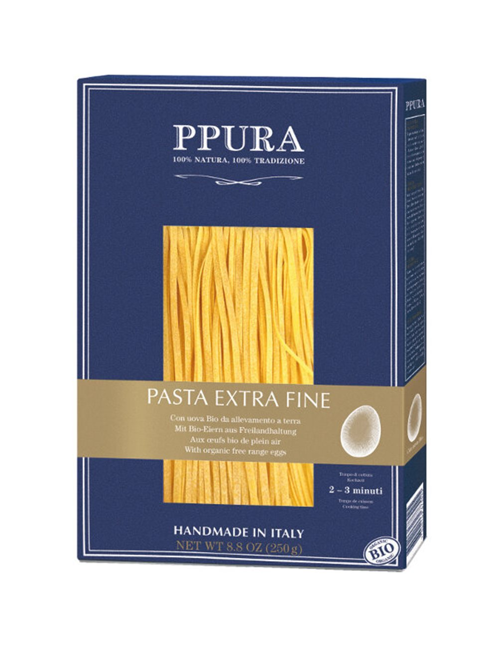 BIO Pasta Extra Fine with lemons  250g