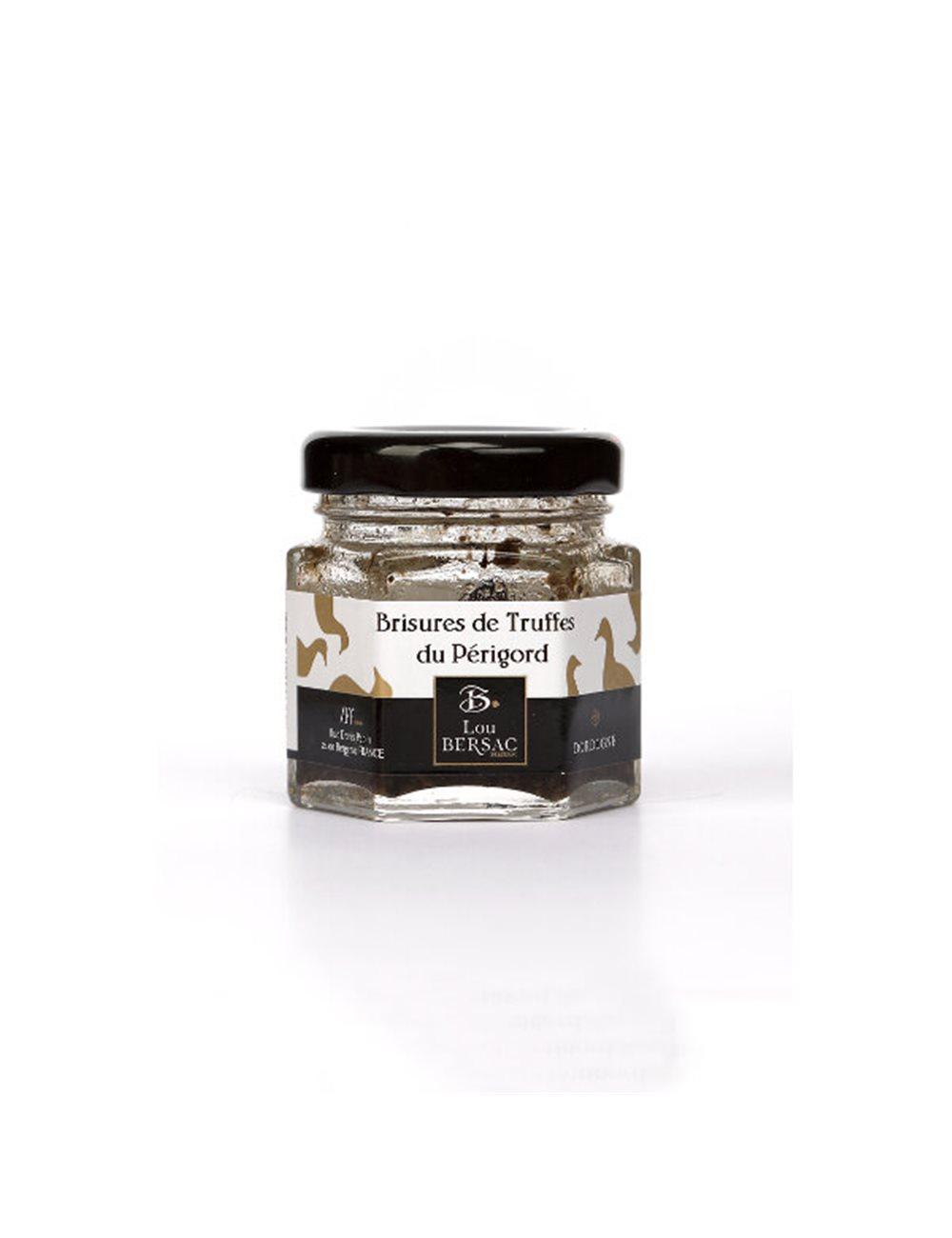 Brisures van zwarte truffel bokaal (TUBER MELANOSPORUM) 12.5g