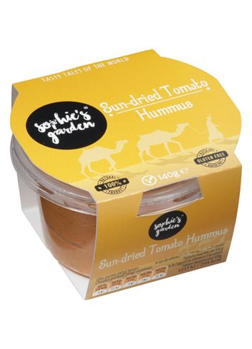 Sun-dried Tomato Hummus 140g
