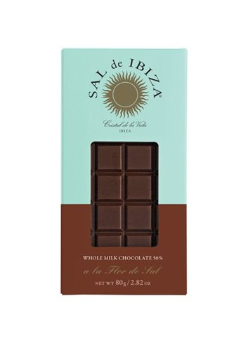 Fleur de Sel Melk BIO chocolade 80g