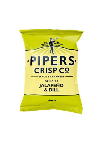 Jalapeno & Dill Chips 40g