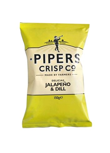 Jalapeno & Dill Chips 150g