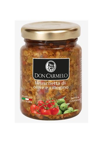 Bruschette aux Tomates Cerises et Olives 100g