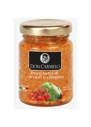Bruschette aux Tomates Cerises et Artichauts 100g