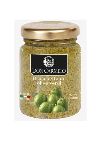 Bruschette aux Olives Vertes 100g