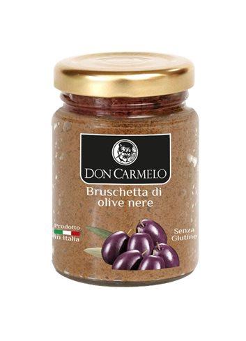 Bruschette aux Olives Noires 100g