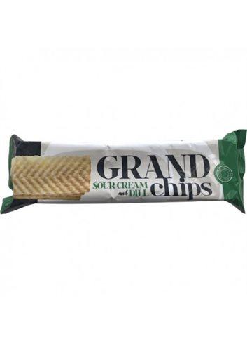 Lange chips zure room & dille 90g