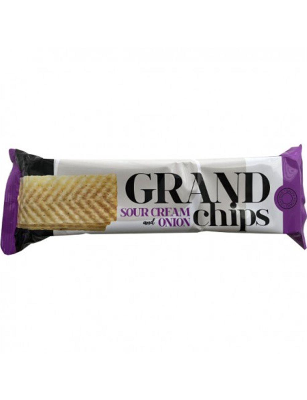 Lange chips zure room & ui 90g
