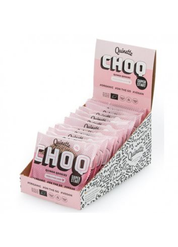 Quinoa ontbijtkoekje CHOCOLADE BIO (glutenvrij-vegan) 50g