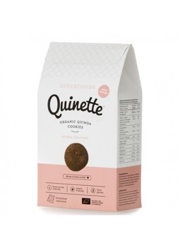 Quinoa Cookies Double Chocolate BIO (glutenvrij) 100g