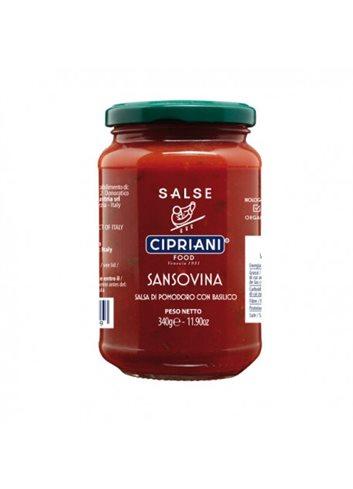 Sauce tomates Sansovina BIO 340g