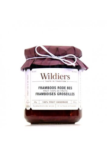 Confitures 100% fruit framboises & fruits rouges 285g