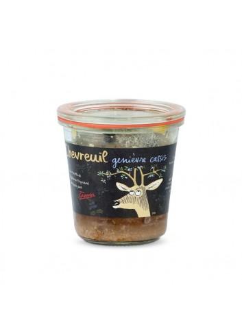 Terrine de chevreuil, genièvre, cassis 200g