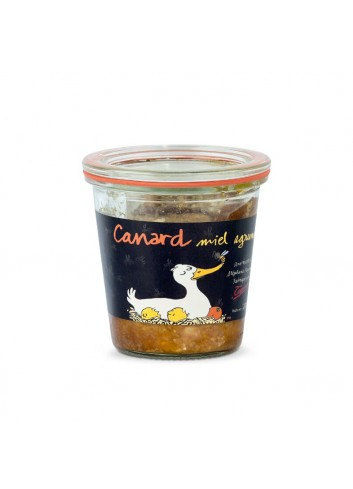 Terrine de canard, miel, agrumes 200g