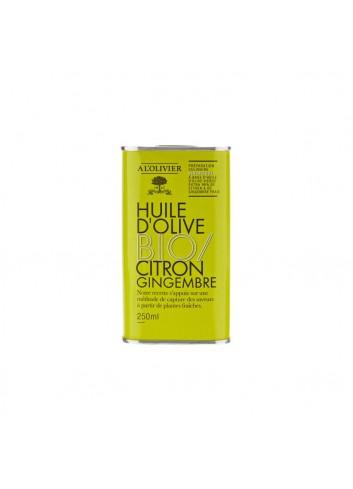 Bid. BIO Huile d'olive vierge extra infusé au citron & gingembre 250ml
