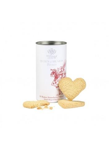 Queen Of Hearts Biscuit Tin Alice 150g