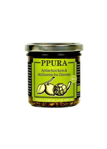 BIO Artischoke and sicilian lemons pesto  140g