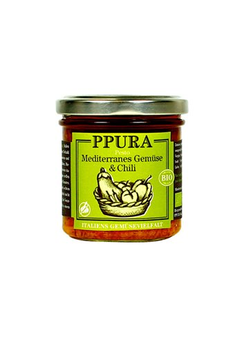 BIO Mediterranean vegetables pesto 140g
