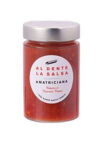Tomatensaus Amatriciana (met pancetta) 200g