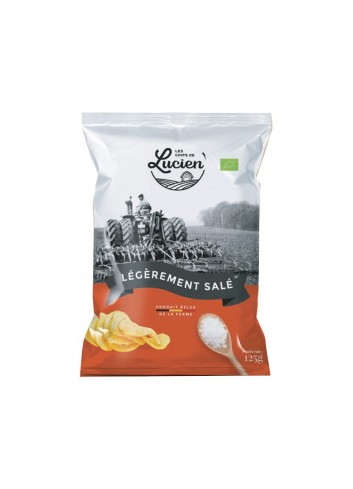 Les Chips de Lucien - Slightly salty - 125g