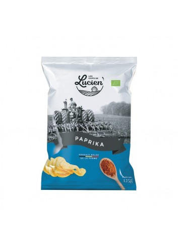 Les Chips de Lucien - Paprika - 125g