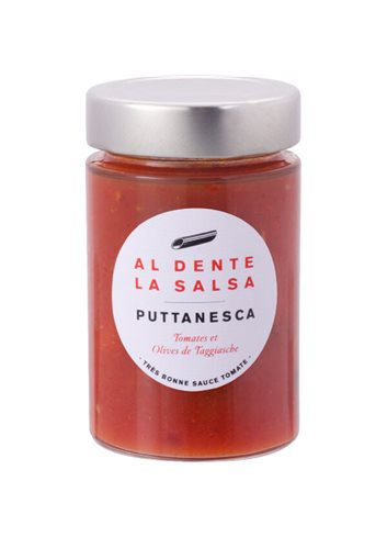 Sauce Tomate Puttanesca 200g